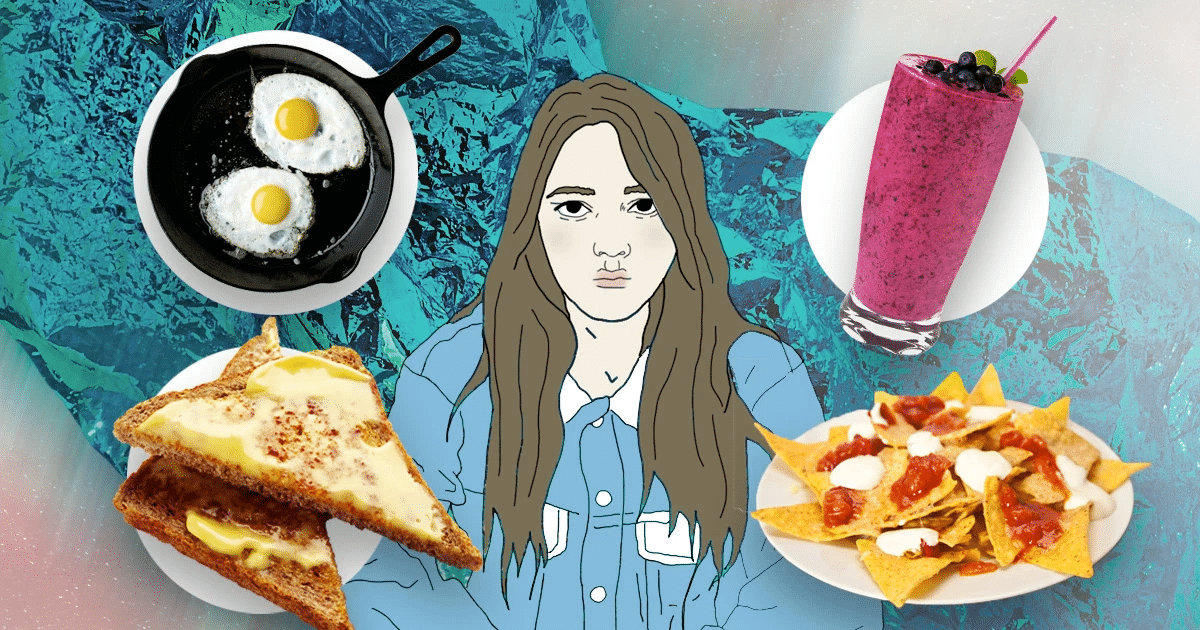 People are sharing their depression meals